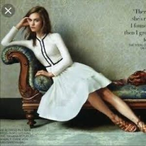 Must have! Maje Rayano White Lace Puffball Dress.